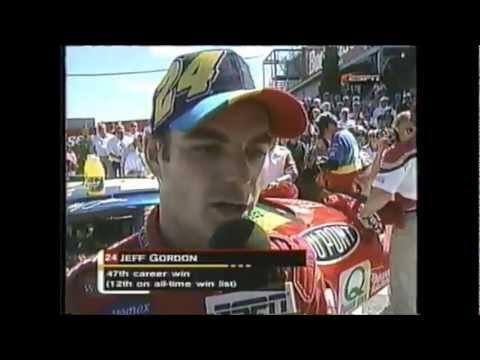 Jeff Gordon Career Win #47 1999 Frontier @ the Glen Finish