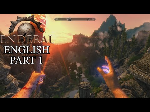 Enderal English Gameplay Part 1 - A Skyrim Engine Based RPG - PC Let's Play 60fps 1080P