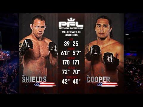 Ray Cooper III vs Jake Shields Full Fight | PFL 3 2018