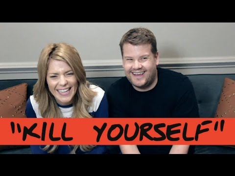 READING MEAN COMMENTS w/ JAMES CORDEN // Grace Helbig