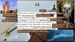 shakespeare sonnet 64 meaning
