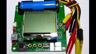 ESR meter M328 nuevo version 2015 comprobador tester multicomponentes