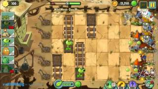 Wild West Day 18 - Plants vs Zombie 2 Walkthrough
