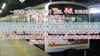 JR宇都宮駅期間限定発車メロディ「栃木県民の歌」