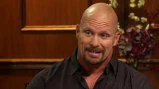 """How Did """"Stone Cold"""" Steve Austin Get His Name?   Larry larry ing Now"""