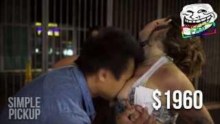 Repeat youtube video [GÉNIAL!] Ils touchent des seins et récoltent 1 500€ pour la bonne cause!