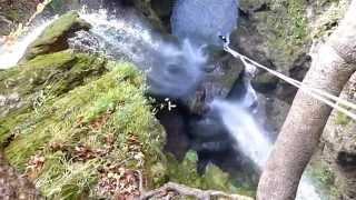 canyon de la fouge cerdon ain le vendredi 21 octobre 2011
