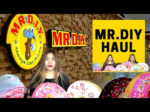เปิดถุง Shopping ร้าน MR. D.I.Y. THAILAND มิสเตอร์ ดี.ไอ.วาย HAUL