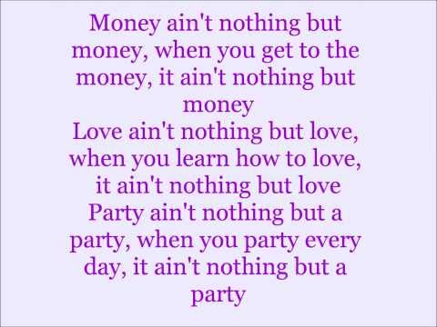 Miley Cyrus - Love Money Party (feat. Big Sean) Lyrics