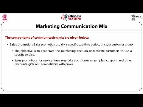 Communication Mix For Services