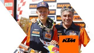 Get2Know KTM EnduroGP youngster Nathan Watson | KTM
