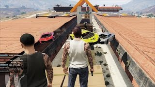ZENTORNO VS RUNNERS EN GTA V!