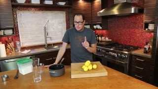 Perfect Homemade Lemonade recipe by SAM THE COOKING GUY