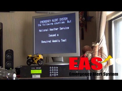 Emergency Alert System (EAS) Broadcast Relay Demonstration