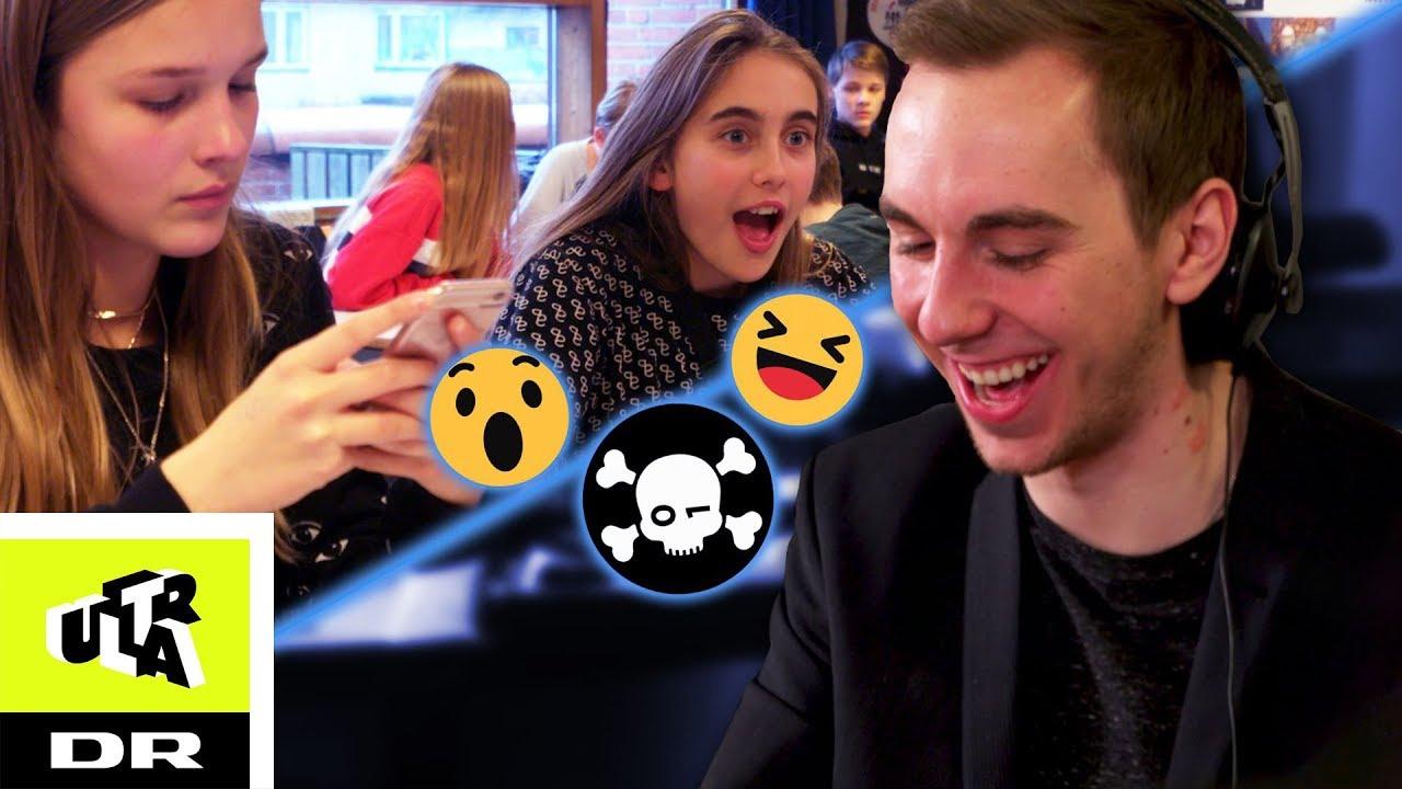 Smadrer alle fra 7.Bs telefoner så let | Ultras Hacking-Eksperiment