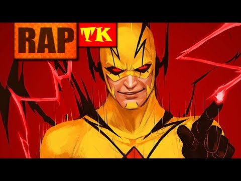 Rap do Flash Reverso (The Flash) // O assassino do passado // TK RAPS #RPV (Prod by FIFTY VINC)