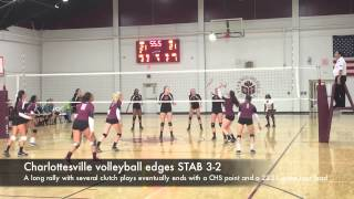 CHS volleyball edges STAB 3 2