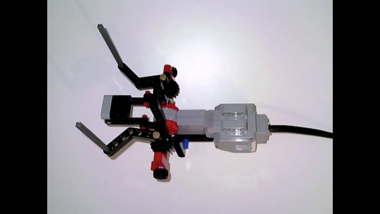 LEGO MOC-20649 Improved Grab & Lift EV3 Grabber by RobotECK