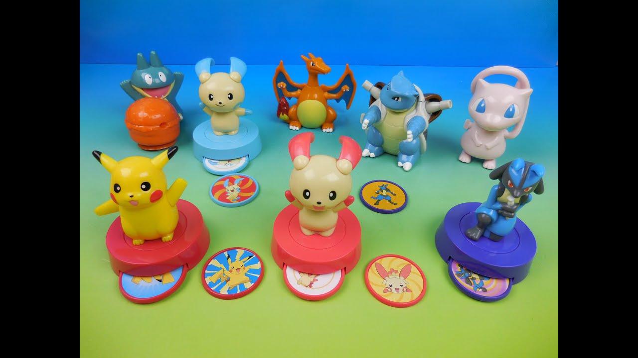Many Pokemon mcdonalds toys
