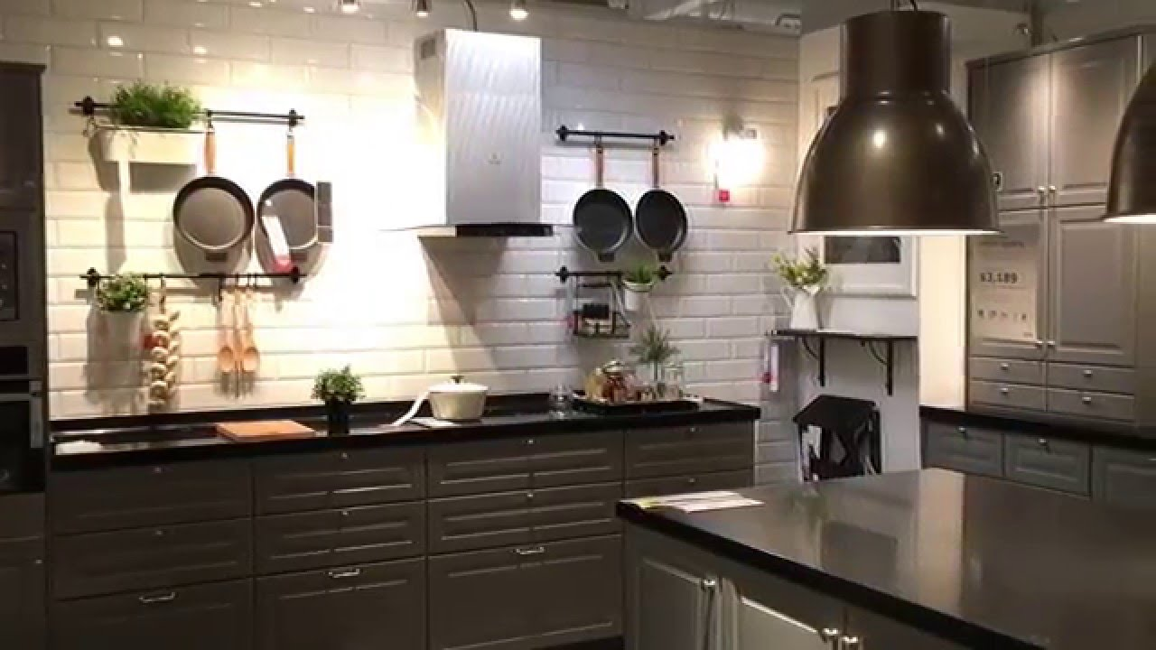 Ikea big kitchen concept youtube for Concept ikea
