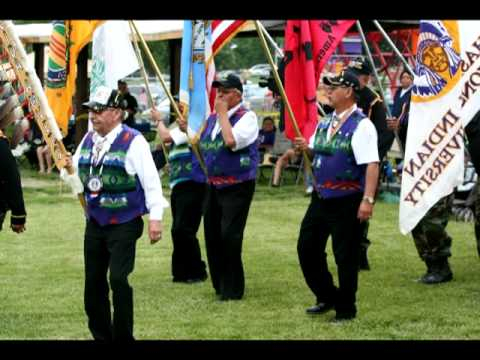 Young Bear - Northern Cheyenne Flag Song - 05-11-2012