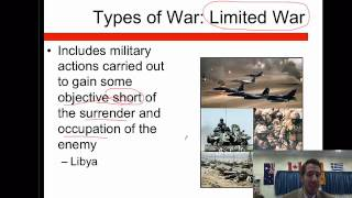 International Relations Lesson 11- International Conflict Part 1
