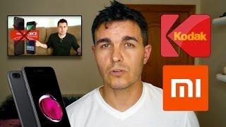 Vlog-Just Unboxing, iPhone 7 Plus, Kodak Ektra y los nuevos Xiaomi.