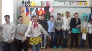 Поздравление с 8 МАРТА для наших девочек из 7В класса Школы №60 г.Владивосток