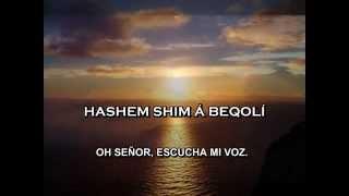 SALMO 130 EN HEBREO - CANTA HAIM ISRAEL - MIMA AMAQUIM