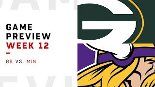Green Bay Packers vs. Minnesota Vikings | Week 12 Game Preview | Move the Sticks