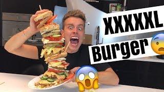 Der höchste Burger der Welt.. 😧 🍔  | Julienco