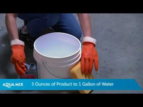 Removing Grout Haze from Stone or Tiles Surface using Grout Haze Clean Up®
