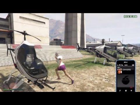 Solo Hanger Sale Mission (6 Havoks) - GTA Online