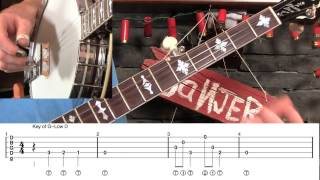 24 Different Banjo Kickoffs in G, C & D!