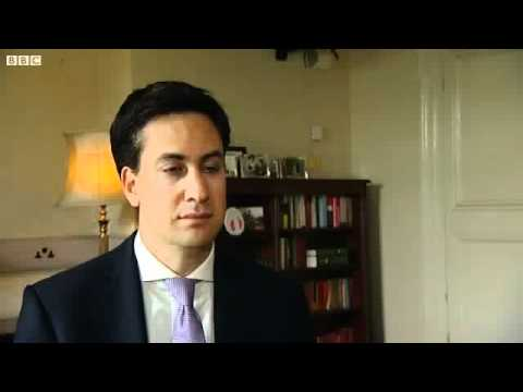 Ed Milliband repeats himself.