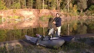 видео Рыболовные принадлежности при сплаве по реке