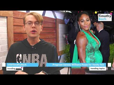 Pregnant Serena Williams Poses for Vanity Fair Cover