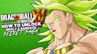 Dragon Ball Xenoverse How Unlock Broly Bardock Secret Saga Xbox