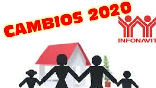 Cambios Infonavit 2020