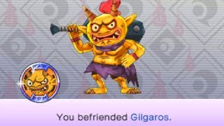 How To Get The Legendary Yo-kai Gilgaros in Yo-kai Watch Blasters!