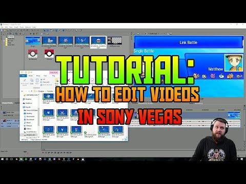 Tutorial: How to Edit Videos in Sony Vegas ( 2017 )