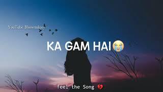 Mohabbat ka Jo Gum Hai //Tiktok Trending Song 2020//Mera jo Sanam hain💔//love This Song/Bhowmikjoy
