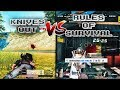 Rules of Survival vs Knives Out - PUBG Mobile Battle Royale Games (iOS/Android)