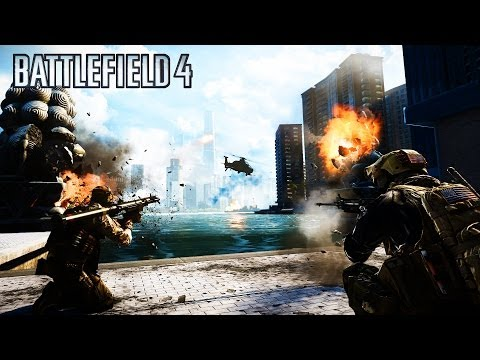 Battlefield 4 DESTRUCTION!!! - BF4 Destruction - Jets, Tanks, Helicopters on Battlefield 4