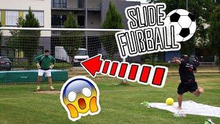 SLIDE FUßBALL CHALLENGE ! feat. SKK | ALI