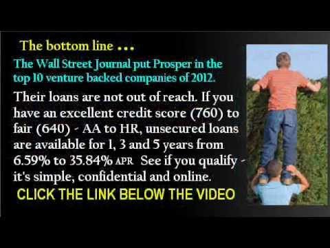 Peer To Peer Loans -- Get Unsecured Personal Loans online.wmv - YouTube