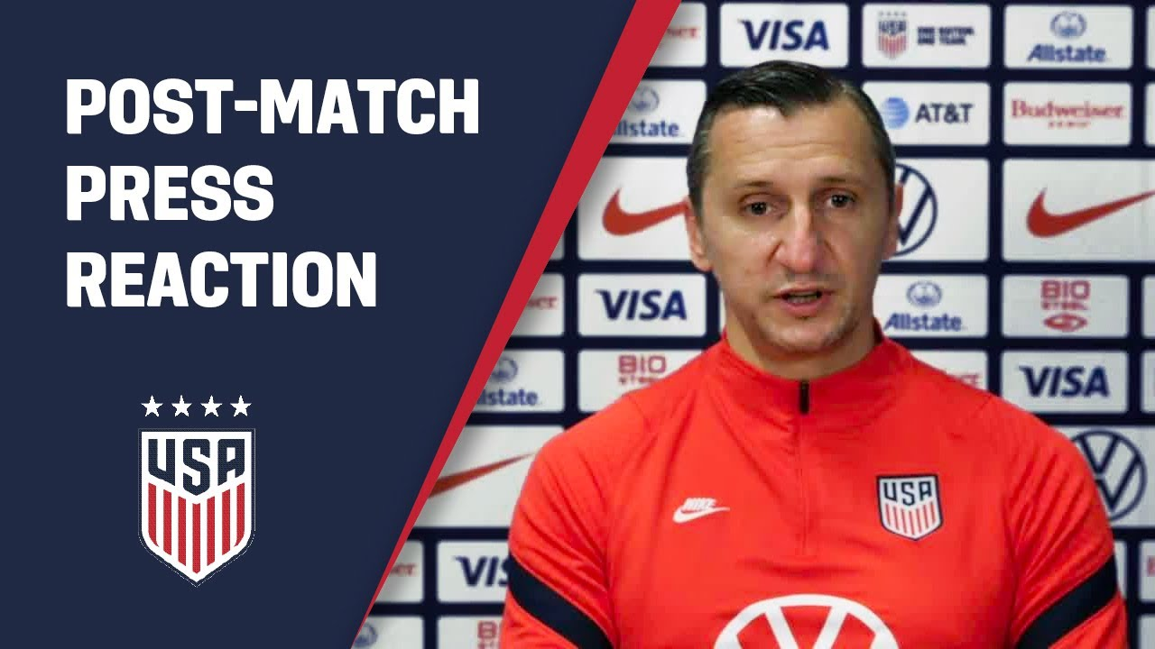 POST-MATCH REACTION: Vlatko Andonovski | USWNT vs. France | 04-13-21