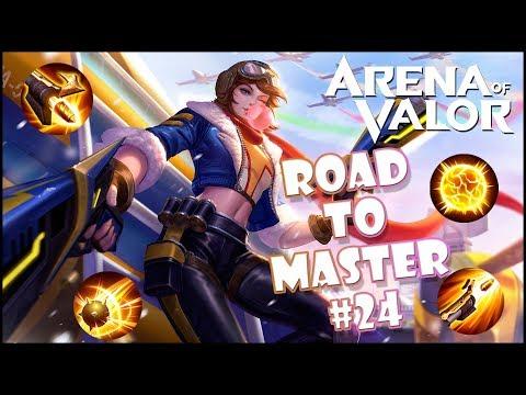 ¡¡LO DE VIOLET ES UNA BESTIALIDAD!! ROAD TO MAESTRO #24   Navalha - Arena of Valor
