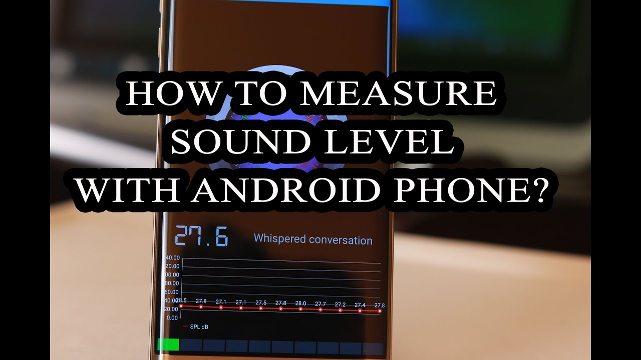 How to Measure Sound Level in your Surroundings with Android App?