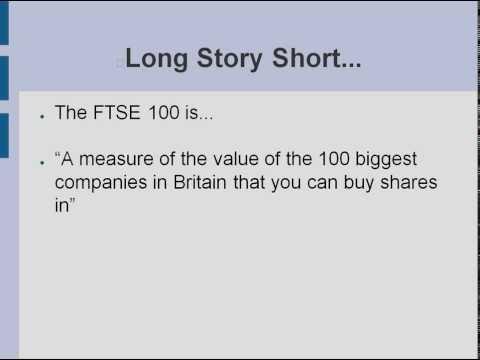FTSE 100 Explained